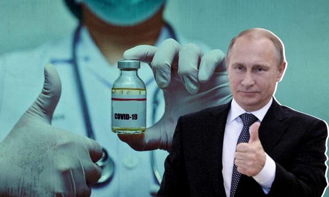 Путин рассказал о своём уровне антител после прививки от COVID-19