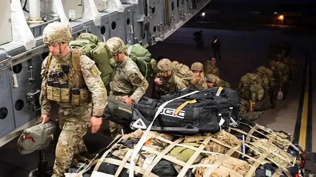Во время военных учений в Эстонии пострадали 10 американских солдат