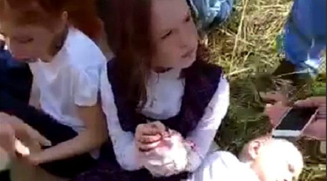Стрельба в школе Казани: появилось видео с пострадавшими детьми