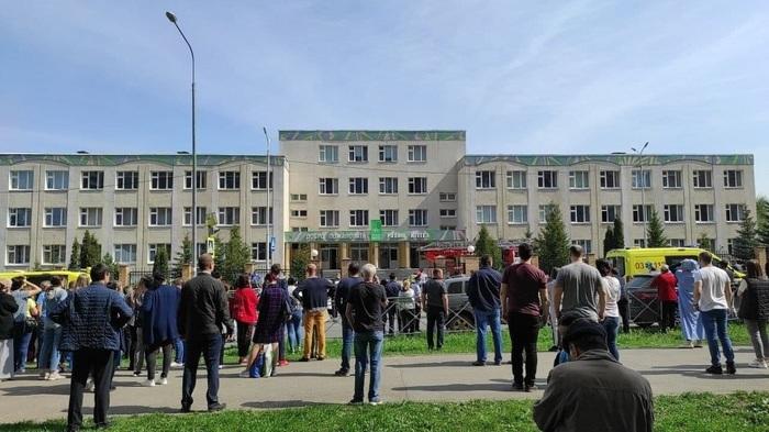 Стало известно, как началась стрельба в гимназии Казани