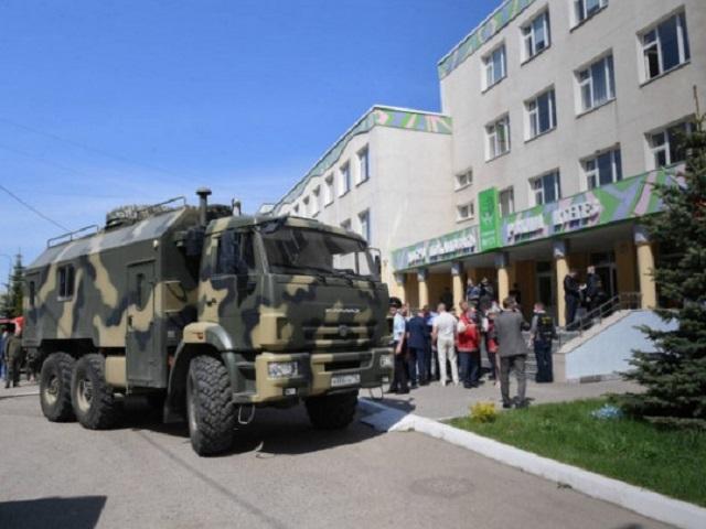 Стрельба в России: появилось видео покупки студентом ружья перед бойней в школе