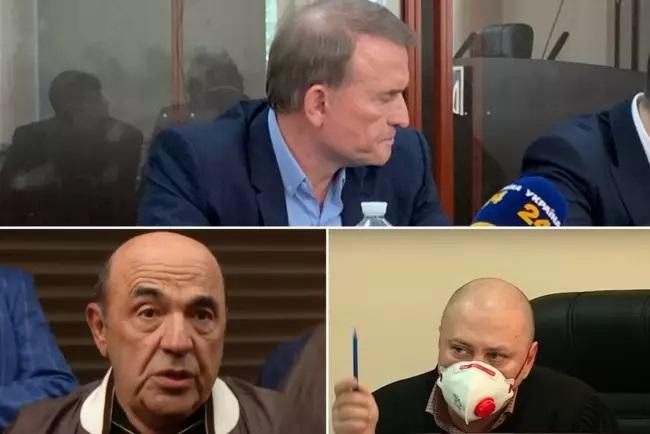 """""""В туалет выходить можно?"""": судья отругал соратников Медведчука"""