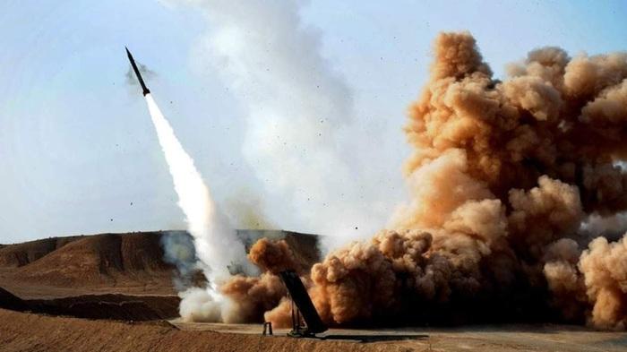 Из территории Сирии ракетами обстреляли Израиль