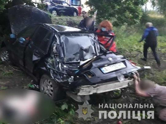 Под Киевом 12-летний мальчик погиб в ДТП в свой день рождения