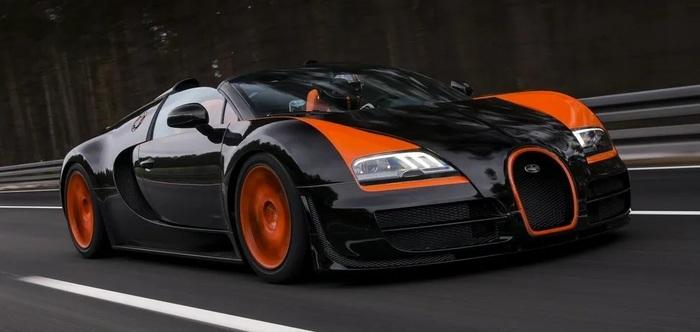 В Украине впервые появился лимитированный Bugatti Veyron за $2,5 млн