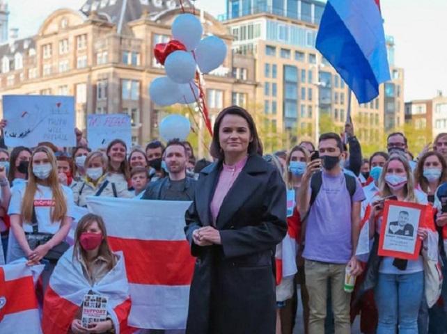 Чехия приняла Тихановскую как президента Белоруссии
