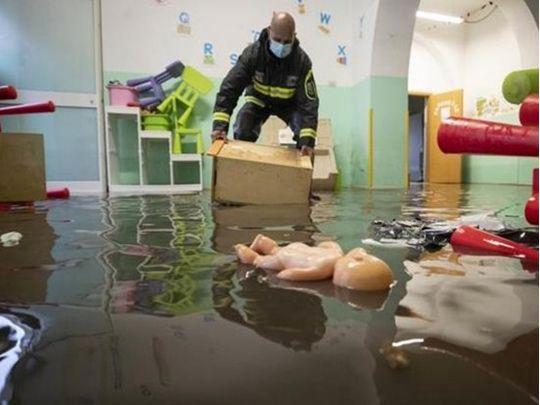 Обильные дожди вызвали наводнения в Европе