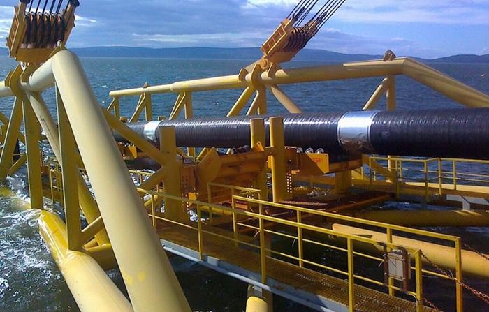 Первая нитка СП-2 завершена, в пятницу начинаются работы по заполнению трубы газом