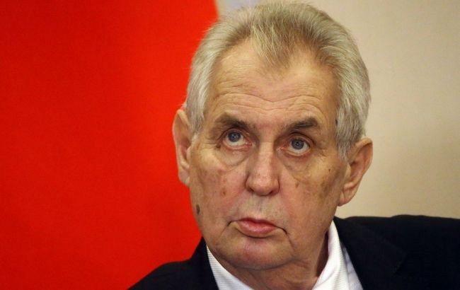 Земан предложил Тихановской открыть офис белорусской оппозиции в Праге
