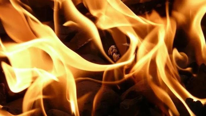 В Екатеринбурге парень с девушкой жгли тополиный пух и случайно сожгли авто
