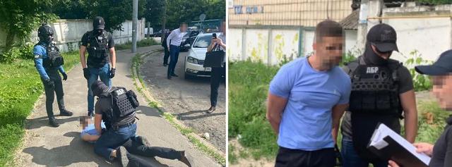 Топменеджера Укртрансбезопасности задержали за вымогательство взяток у перевозчиков