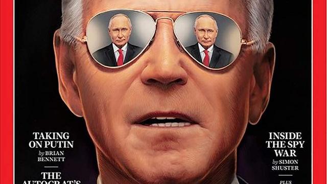 Один Байден и 2 Путина: президенты США и России украсили обложку TIME