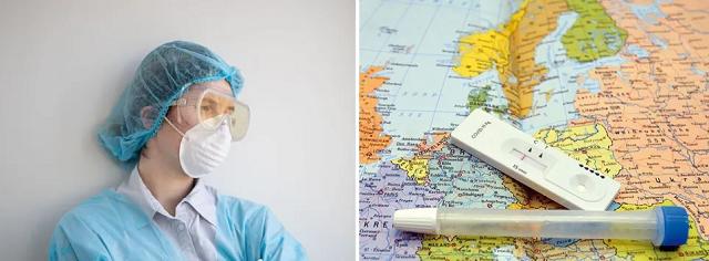 Украину назвали второй в Европе по смертности от COVID-19 за сутки