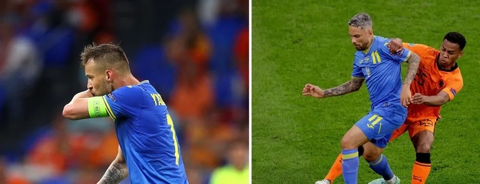 СМИ сообщили о конфликте между игроками сборной Украины на матче с Нидерландами