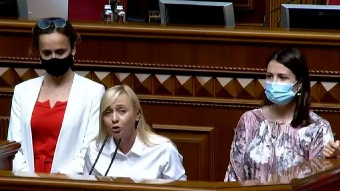 «Голос» призвал Рудык сложить депутатский мандат и полномочия