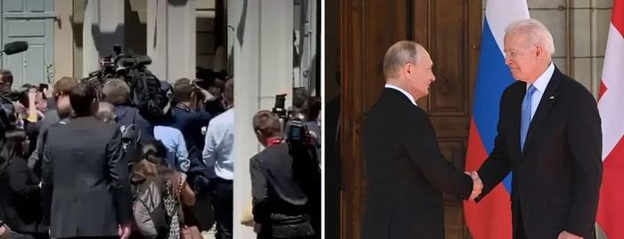 Россияне рассказали о драке журналистов во время встречи Байдена и Путина