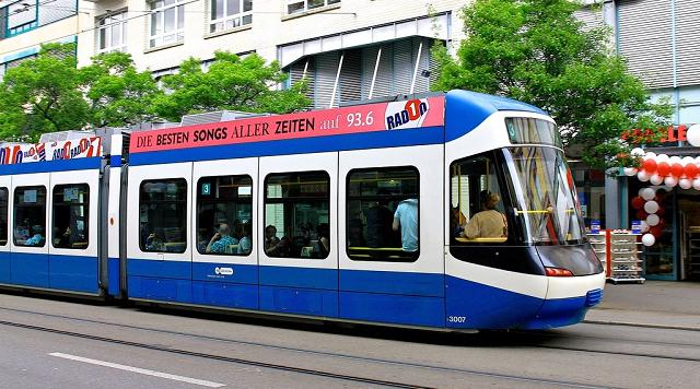 В Швейцарии мёртвый человек 6 часов катался по городу на трамвае