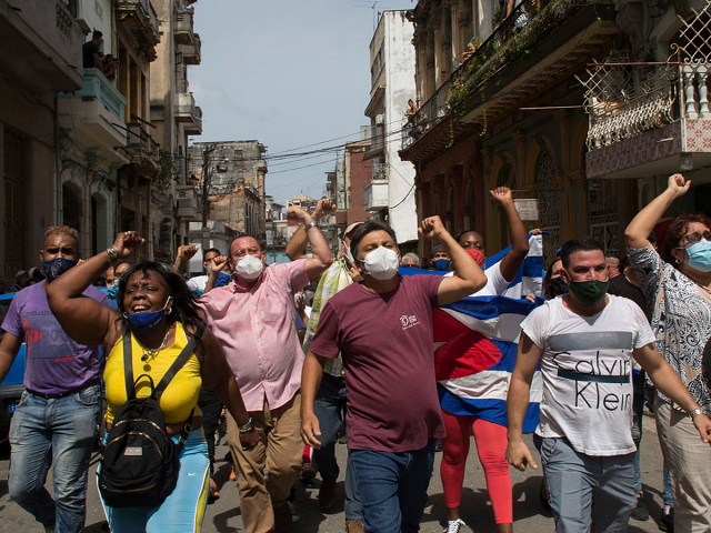 Кубинский народ поднялся против 60-летней «кастровской» тирании