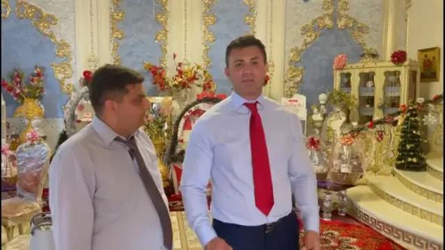 Тищенко обсудил проблемы ромов Закарпатья в позолоченном особняке барона с кучей конфет «Рафаэлло»