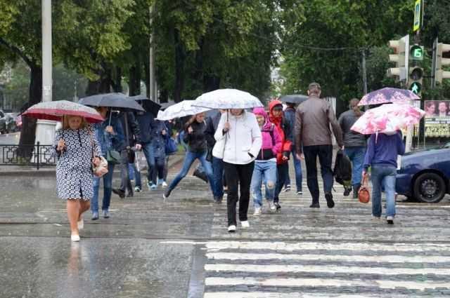 По Харькову пронесся ливень