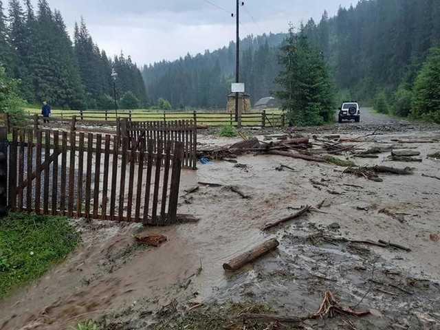 Два селевых потока сошли на Закарпатье