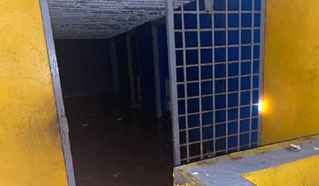 Вход в найденную под Петербургом подземную тюрьму с крематорием закопали