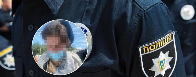 """В Киеве женщина с """"коктейлем Молотова"""" пыталась ограбить банк"""