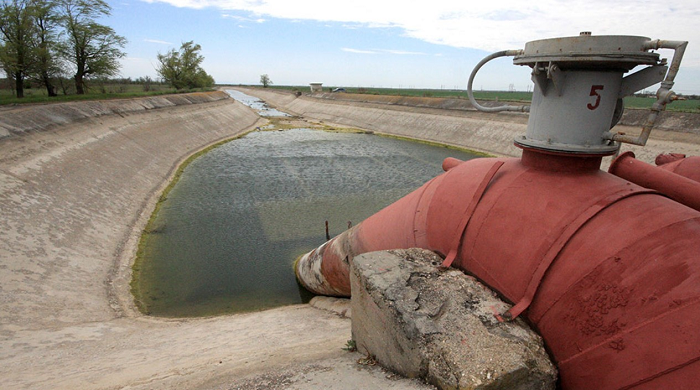 В России оценили ущерб от водной блокады Крыма