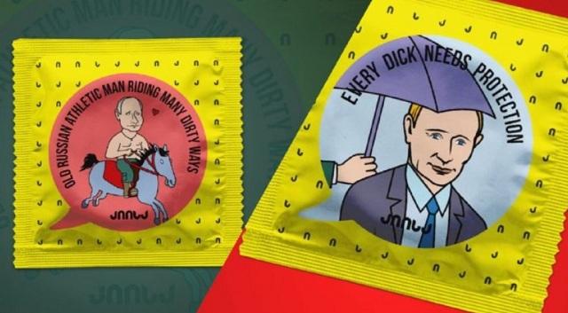 Производитель презервативов с лицами Путина и Сталина выиграл дело против Грузии в ЕСПЧ
