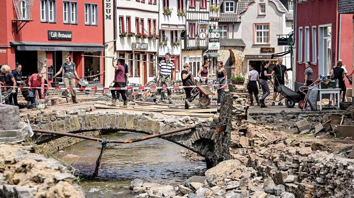 В Германии снова прогнозируют дожди и готовится эвакуация