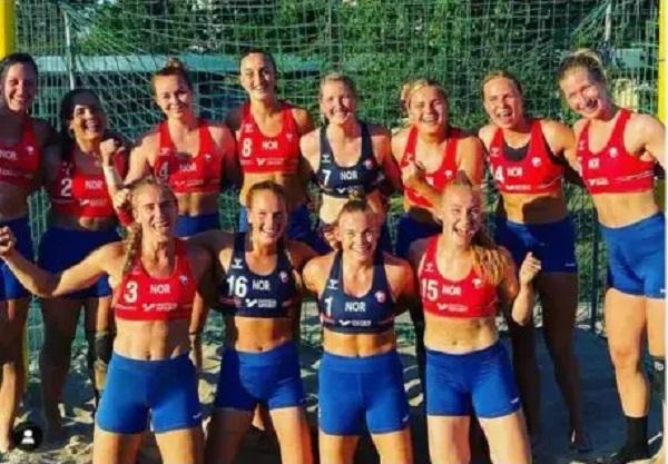 Женскую гандбольную сборную Норвегии оштрафовали за выступление в шортах вместо бикини. Pink заявила, что заплатит штраф