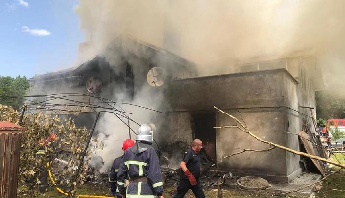 Авиакатастрофа на Ивано-Франковщине: в сеть попало видео падения самолета
