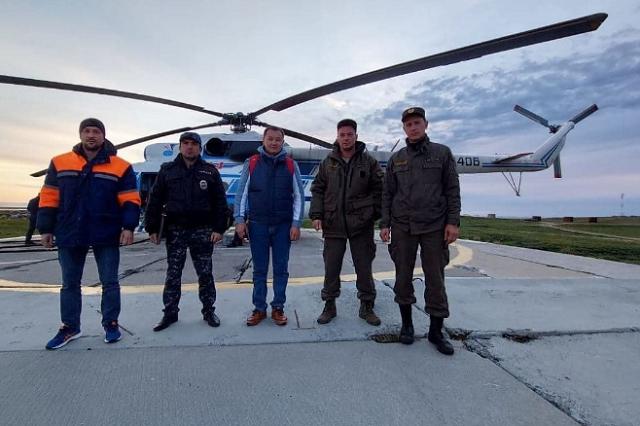 На Ямале голодный белый медведь, которого отгоняли от жилья вертолетом, вернулся к людям