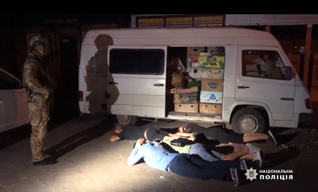В Одессе задержали банду вымогателей-мажоров