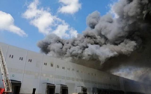 Масштабный пожар в пригороде Одессы: горели склады крупной сети супермаркетов
