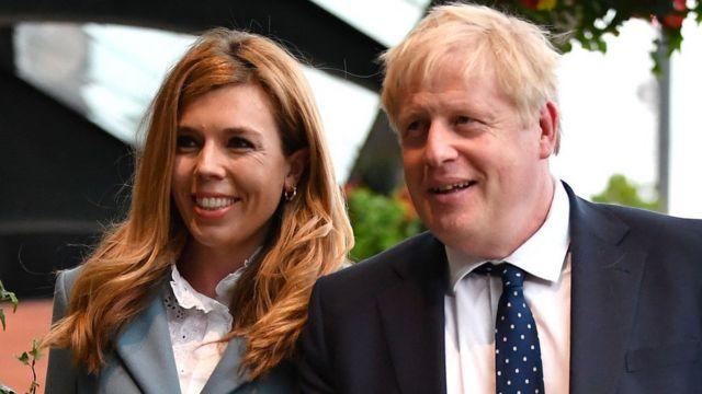 Жена Бориса Джонсона сообщила, что беременна