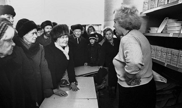 Дефицит в СССР: покупать обувь разрешалось раз в три года