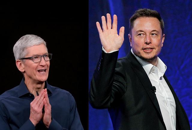 Илон Маск хотел стать CEO Apple. Тим Кук в ответ бросил трубку