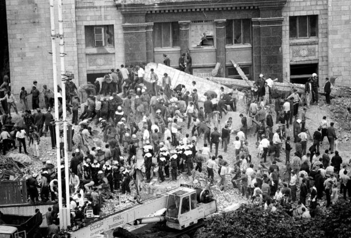 Трагедия Главпочтамта в Киеве: 32 года назад из-за обрушения балкона погибли 11 человек