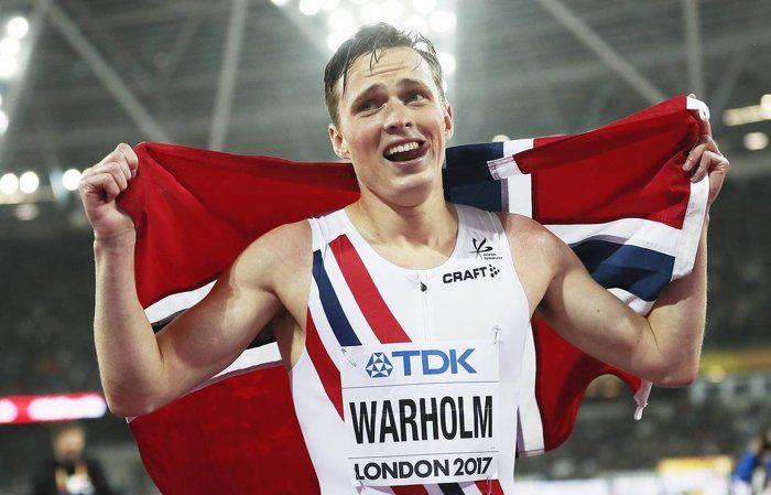 """Норвежец сокрушил мировой рекорд и выиграл """"золото"""" Олимпиады на 400 метров с барьерами"""