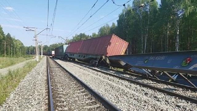 Два поезда столкнулись в Забайкалье