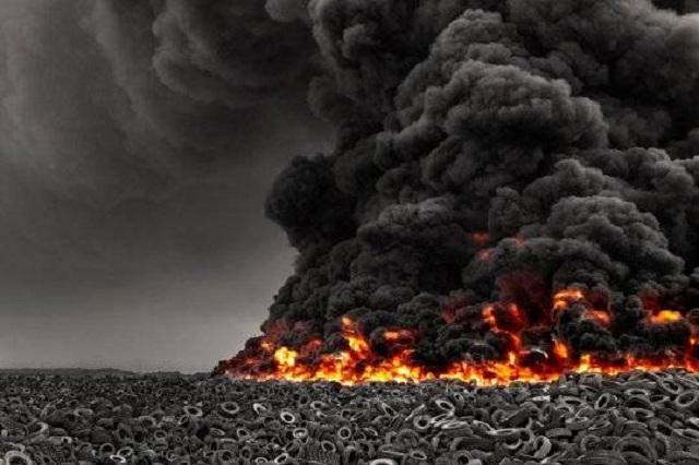 В Кувейте горит «Сулабия» — крупнейшая в мире свалка автомобильных шин: пожар может привести к экологической катастрофе