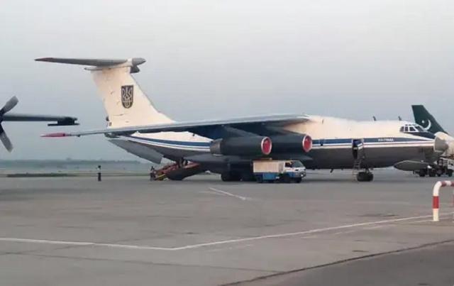 Украинский самолёт в Кабуле захватывали неизвестные с оружием