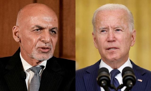 Опубликованы последние переговоры Байдена с президентом Афганистана перед захватом власти талибами