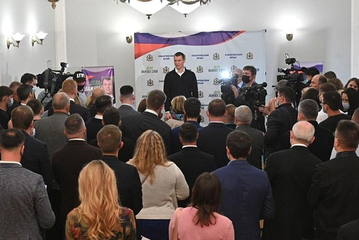 Стали известны первые результаты на выборах губернатора Хабаровского края