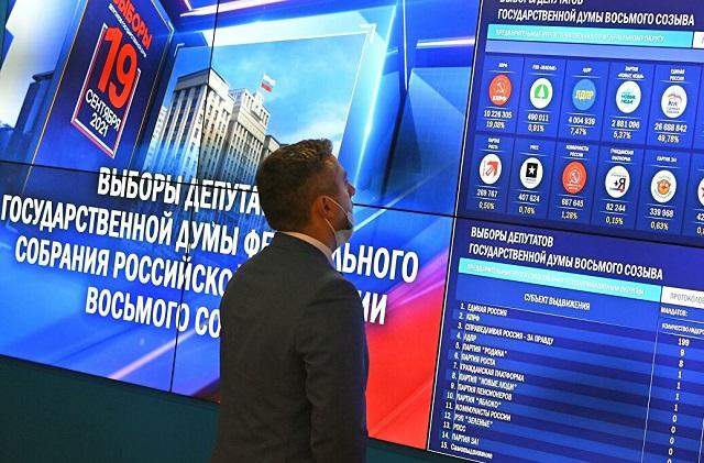 «Единая Россия» набрала 36,98% голосов на думских выборах в Москве