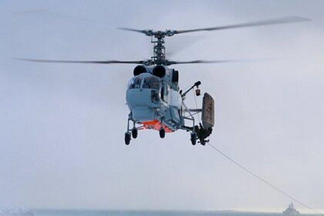 Обломки совершившего жесткую посадку на Камчатке вертолета Ка-27 обнаружили