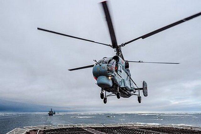На Камчатке нашли обломки вертолета Ка-27