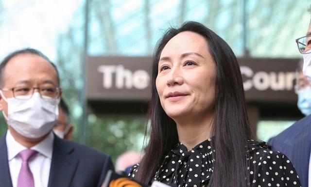 Финдиректор Huawei вернулась в Китай