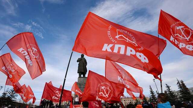 В Екатеринбурге на акцию КПРФ против итогов выборов пришли около 200 человек
